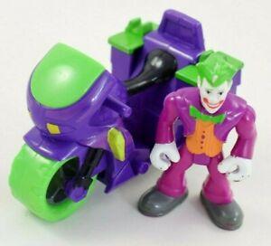 Fisher Price Imaginext DC Comic Super Friends Joker Motorbike & Joker Figure  #9