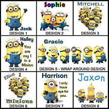 Personalised Minion Mug - Any Name or Msg - Many Designs - Gift Idea - Minions