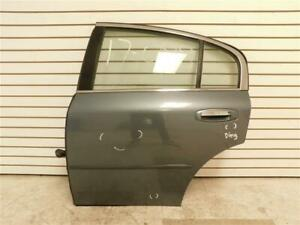 03-06 Infiniti G35 Rear Left Door Complete Blue B40 H210AAL5AA