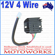 12V 4 Wire Voltage Rectifier Regulator 150c 250cc PIT Quad Dirt Bike ATV Buggy
