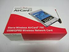 Brand New Boxed SIERRA WIRELESS Aircard 750 GSM / GPRS di rete Wireless PCMCIA
