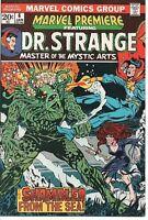 Marvel Comics Group Marvel Premiere #6 '73 Dr. Strange! The Shambler NM-