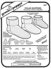 Green Pepper Sewing Patterns,Polar Fleece Slipper Pattern GP527