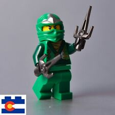 Lego Lloyd ZX Rebooted Green Ninja 10725 Lost Temple Garmadon