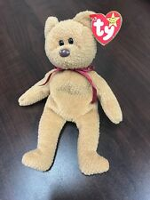 RETIRED TY BEANIE BABY CURLY BEAR WITH TAG ERRORS 4052 (CO62)