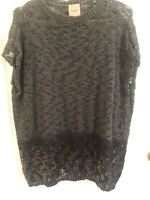 Nude Brand Knitted Oversised Top With Metallic Details, BNWOT, Sz 44, RRP$350