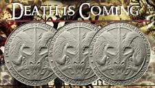 2 OZ THE DESTINY COIN 5 THE DRAGON OF DEATH - Mors Draco - .999 Silver BU Round