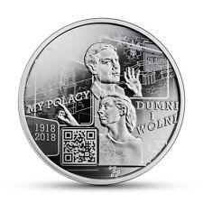10 złotych-My Polacy Dumni in Wolni 1918-2018