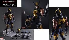 Preorder : Marvel Comics Variant Play Arts Kai Action Figure Wolverine PAK Nuovo