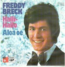 "<3916-11> 7"" Single: Freddy Breck - Halli-Hallo"