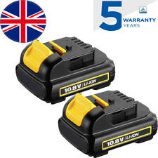 2x for Dewalt 10.8V Battery 3.0Ah XR Li-Ion DCB120 DCB121 DCB123 DCB125 DCB127