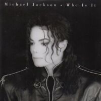 ★ CD SINGLE Michael JACKSON Who is it CARD SLEEVE 2-track  ★ RARE ★ EX