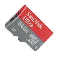 SanDisk 64GB Ultra Micro SD SDXC UHS-I-Speicherkarte  Class 10 SDSDQUA-064G