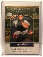 2008 Upper Deck Yankee Stadium Legacy Collection #2302 Yogi Berra  NM-MT