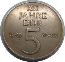 """DDR 5 Mark 1969 """"20 Jahre DDR"""" @1"""