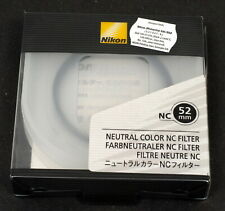 Nikon 52mm Neutral Color NC Filter - Brand New in Box