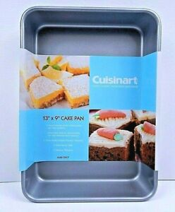 Cuisinart AMB-139CP Nonstick Cake Pan 13 x 9 Silver Grey Quick and Cleanup Fast