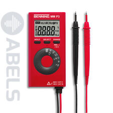 Digital Multimeter im Taschenformat Benning MM P3 MMP3 044084 *NEU*