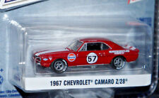 1969 chevy camaro z28 '69 race car diecast model 1/64 scale greenlight