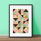 Geometric print Contemporary modern minimalist print Scandinavian style art