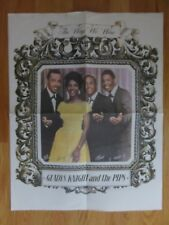 """Vintage Gladys Knight & The Pips """"The Way We Were"""" Poster William Edward Merald"""