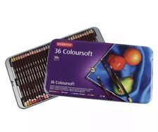 Derwent Coloursoft Tin Set of 36 - Assorted Colors 0701028