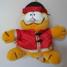 RARE Garfield Traditional Chinese Wedding Plush Toy 1981 VHTF