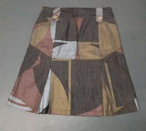 """Custo Barcelona Women's Fabulous knee Length Denim Skirt Size 30""""Waist"""
