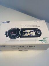 Blue Samsung FlashCam - Shoot & Share Camcorder Smx-F30Ln Open Box Rare