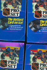 4 X 1990-91 Proset Pro Set Hockey Wax Pack Box Series 1 Card COLLECTION 1991