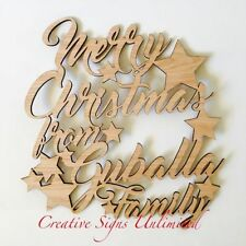 Christmas Personalised Decorative Plaques & Signs