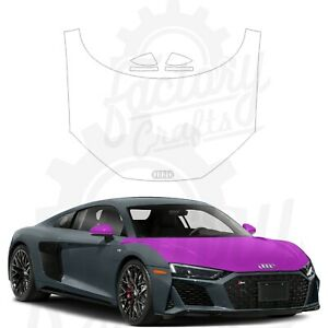 Paint Protection Film Clear PPF for Audi R8 Coupe 2020-2021 Full Hood