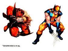 Marvel Tattoo 10-10, Temporary Tattoo, Wolverine