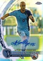 2014 Topps Chrome Major League Soccer - Base Autographs - You Pick - MLS