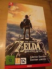 La Leyenda de Zelda aliento de la edición limitada Salvaje + Postales (switch) NUEVO
