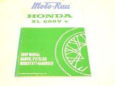 Honda XL 600 V Werkstatthandbuch REPARATURANLEITUNG Ergänzung Nachtrag