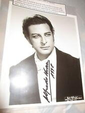 ALFREDO KRAUS SPNISH OPERA TENOR SIGNED  PHOTO 1998