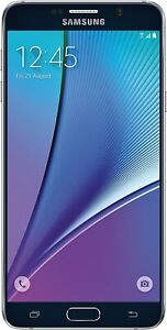 Samsung SPHN92032BKS Galaxy Note 5, 32GB GSM Sprint, Black