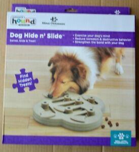 Nina Ottosson Dog Hide N' Slide Treat Puzzle Level 2 Outward Hound Exercise NEW