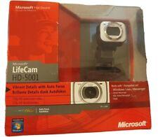 Microsoft LifeCam HD-5001 HD Auto focus Webcam 720P New Sealed Zoom Skype