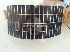 10W 12V Semi Flexible Solar Panel Charger USB & CLIP For 12V suv RV Boat Mar