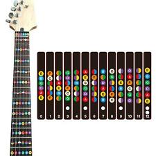 COCODE Guitar Fretboard Note Decals Fret Stickers For Acoustic Electric...