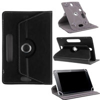 Tablet Case 360° Rotating Ultra Slim PU Leather Stand Case Flip Cover Fit iPad