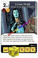 056 LYSSA DRAK Keeper of the Book... - Common - WAR OF LIGHT - DC Dice Masters