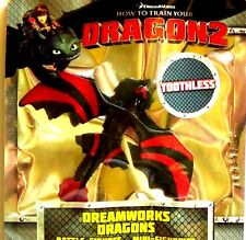 DreamWorks How To Train Your Dragon 2 Battle Dragon Figure Toothless! Black! Red