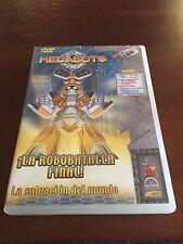MEDABOTS LA ROBOBATALLA FINAL - 1 DVD - 65 MIN - 3 CAPITULOS + CONTENIDOS EXTRA