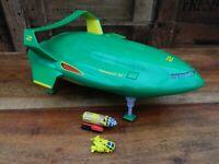 Thunderbirds Movie Deluxe Thunderbird 2 with Mole and Thunderbird 4