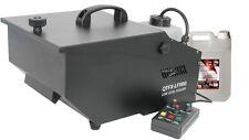 QTFX-LF900 basso livello Fogger Fumo Nebbia Macchina Effetto Ghiaccio Secco & 5 L FLUIDO NEBBIA