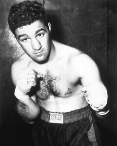 Boxing Champion ROCKY MARCIANO Glossy 8x10 Photo Print Heavyweight Poster