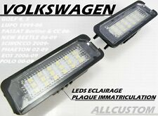 LEDS SMD ECLAIRAGE PLAQUE IMMATRICULATION VW POLO 6N2 9N 9N3 99-09 TDI SDI GTI